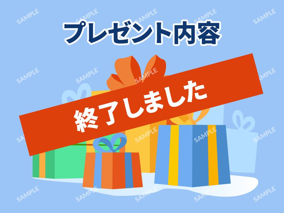 B賞「プレゼント名」